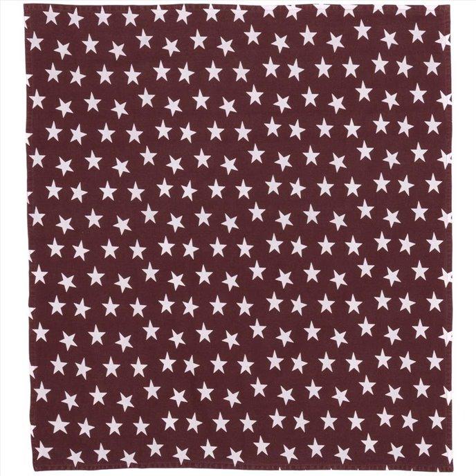 Multi Star Red Table Topper 40x40 Thumbnail