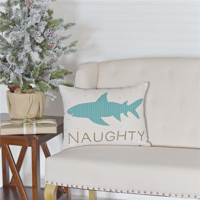 Nerine Shark Pillow 14x18 Thumbnail