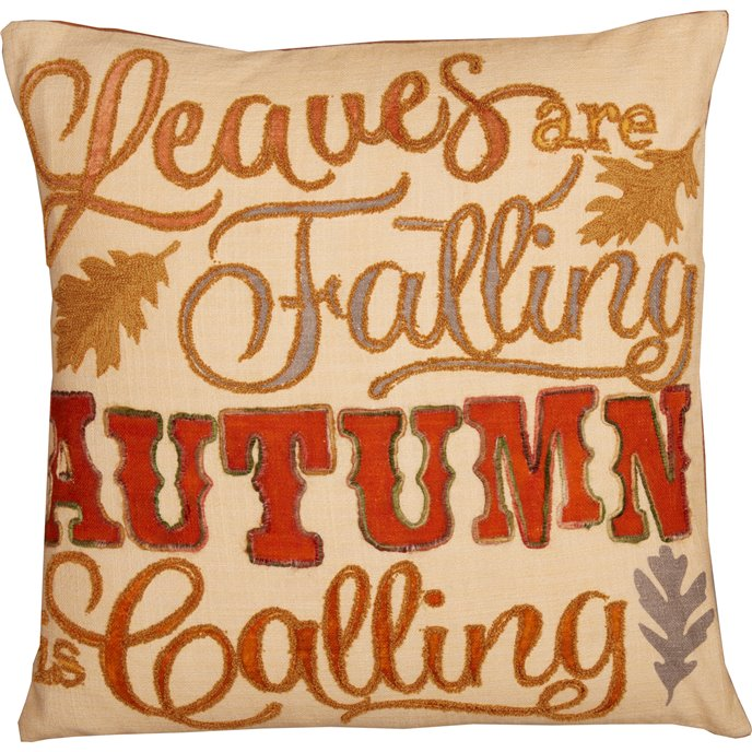 Autumn Calling Pillow 18x18 Thumbnail