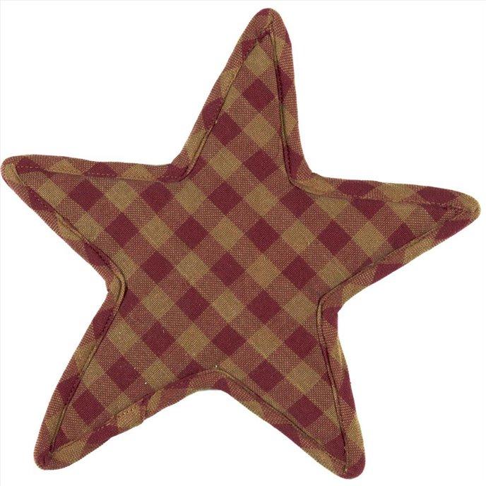 Burgundy Star Trivet Star Shape 10 Thumbnail
