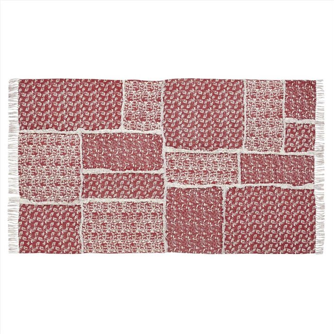 Isabella Patchwork Stenciled Rug 60x96 Thumbnail