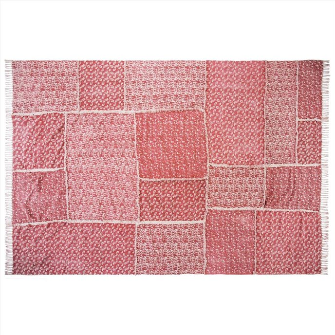 Isabella Patchwork Stenciled Rug 96x132 Thumbnail