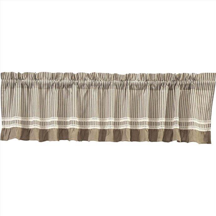 Kendra Stripe Black Valance 19x90 Thumbnail