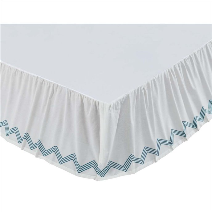 Laguna King Bed Skirt 78x80x16 Thumbnail