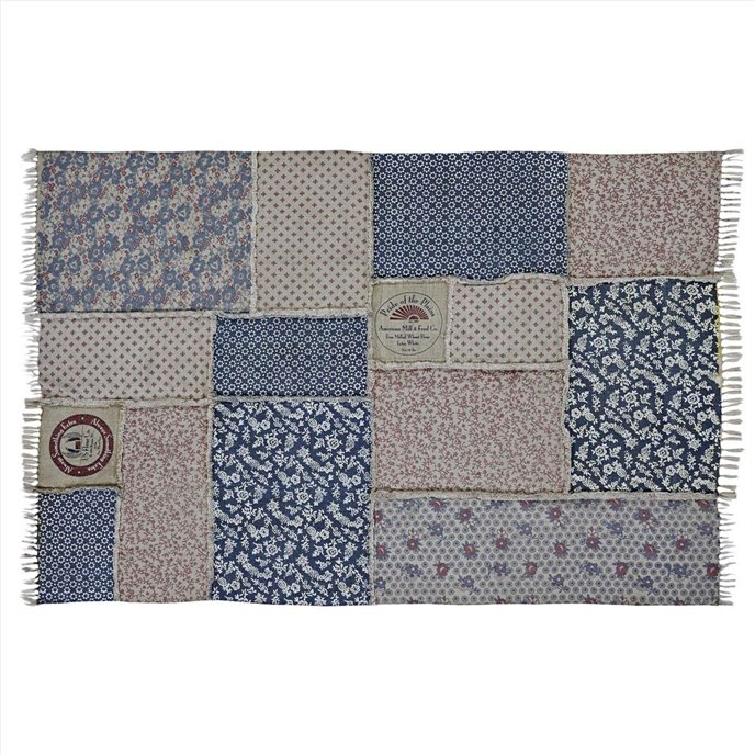 Millie Patchwork Rug Rect 60x90 Thumbnail