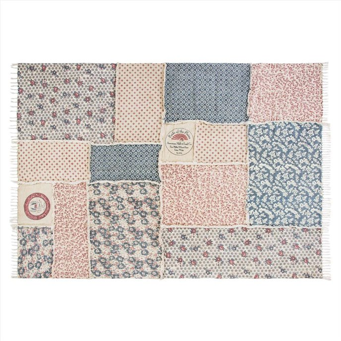 Millie Patchwork Rug Rect 70x104 Thumbnail