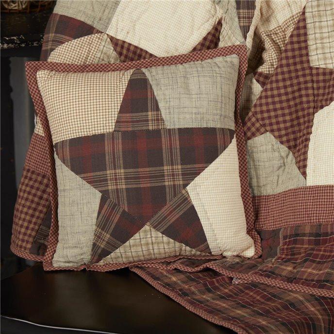 Abilene Star Quilted Pillow 12x12 Thumbnail