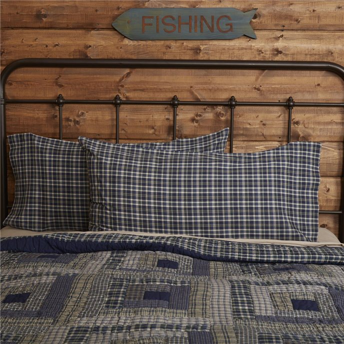 Columbus King Pillow Case Set of 2 21x40 Thumbnail