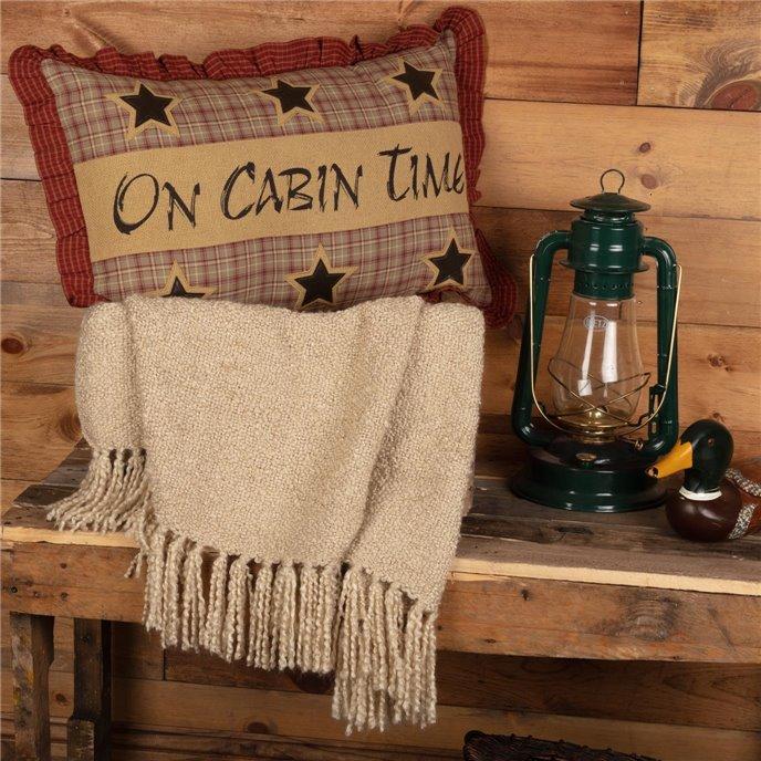 Dawson Star On Cabin Time Pillow 14x22 Thumbnail