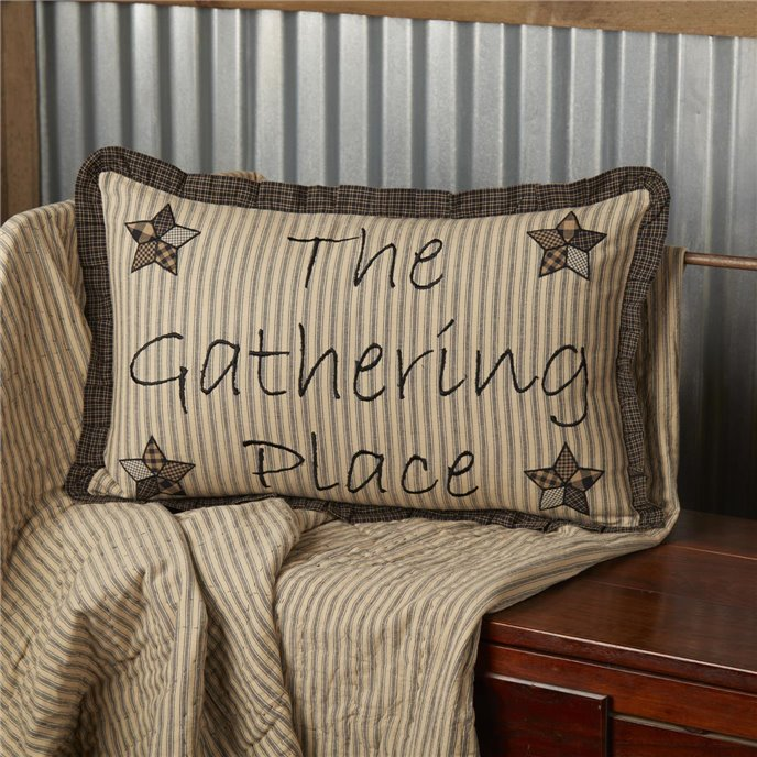 Farmhouse Star Gathering Place Pillow 14x22 Thumbnail