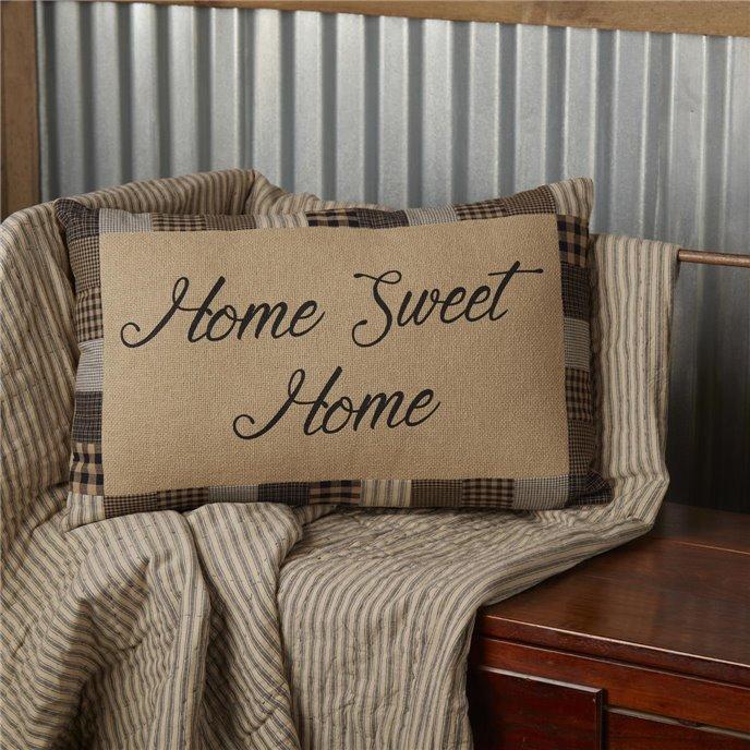 Farmhouse Star Home Sweet Home Pillow 14x22 Thumbnail