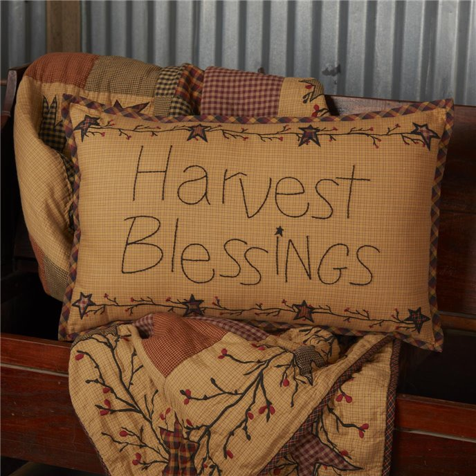 Heritage Farms Harvest Blessings Pillow 14x22 Thumbnail