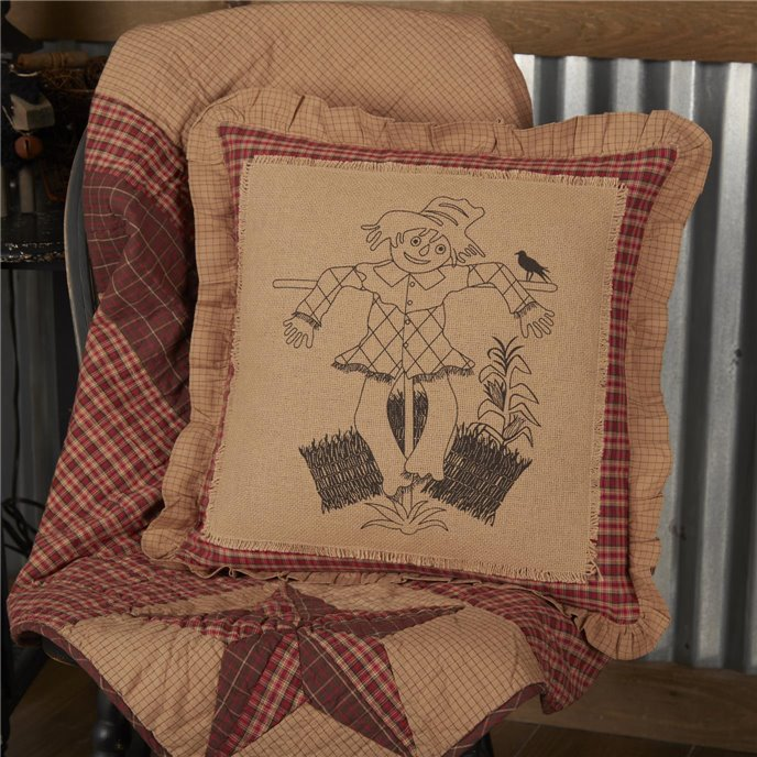 Landon Scarecrow Pillow 18x18 Thumbnail
