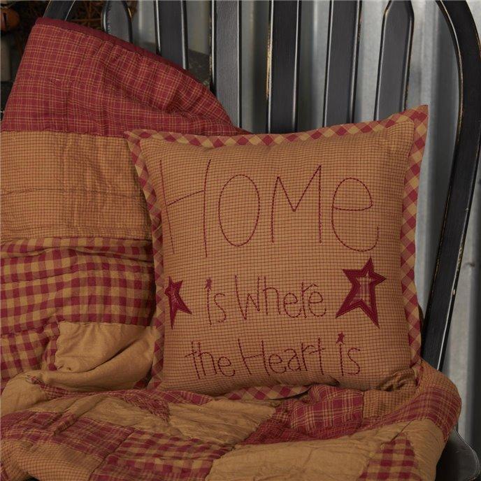 Ninepatch Star Home Pillow 12x12 Thumbnail