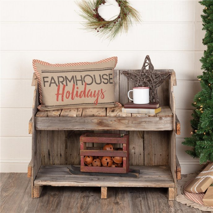 Sawyer Mill Farmhouse Holidays Pillow 14x22 Thumbnail