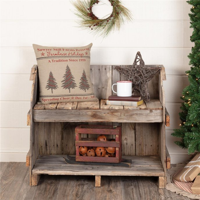 Sawyer Mill Holiday Tree Pillow 18x18 Thumbnail