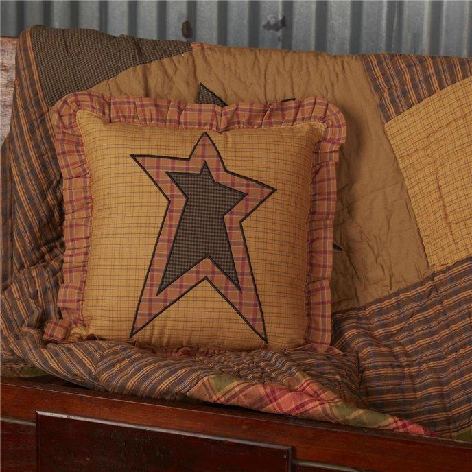 Stratton Applique Star Pillow 12x12 Thumbnail