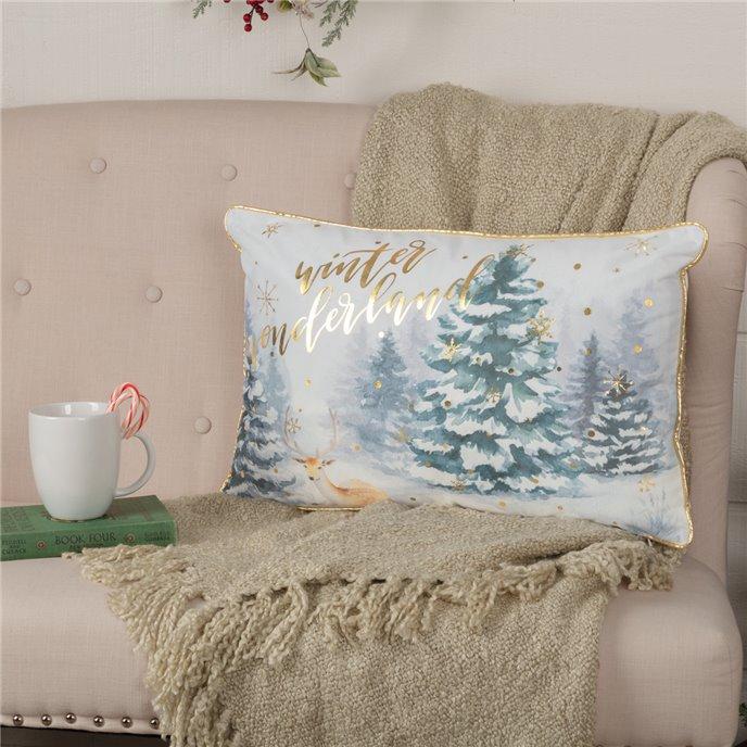 Winter Wonderland Pillow 14x22 Thumbnail