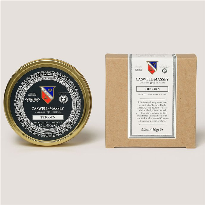 Caswell-Massey Tricorn Shave Soap in Tin Thumbnail