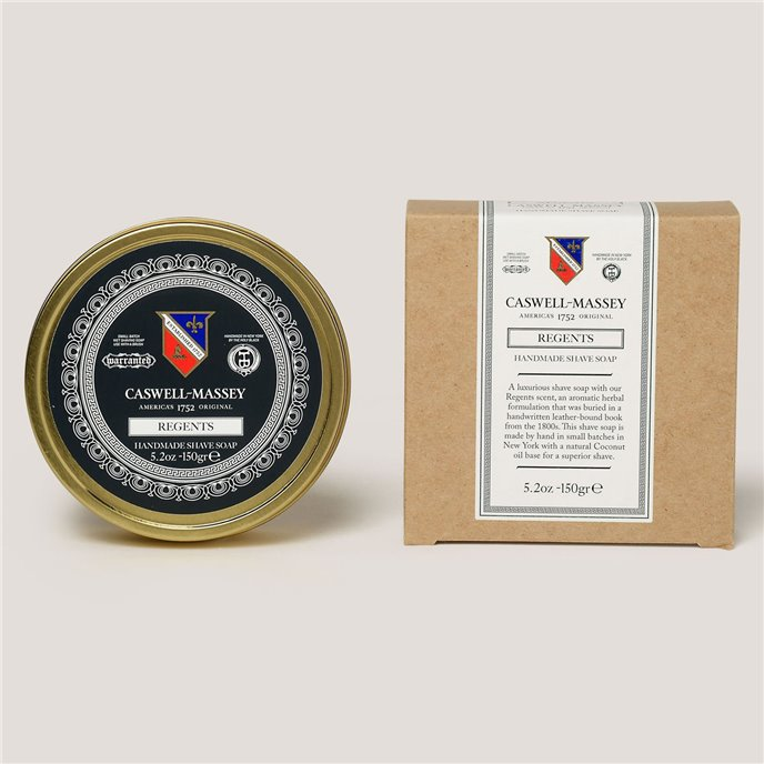 Caswell-Massey Regents Shave Soap in Tin Thumbnail