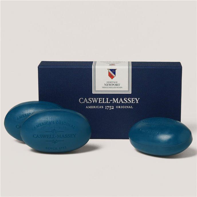 Caswell-Massey Newport Soap set (3 x 5.8 oz.) Thumbnail