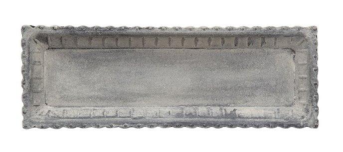 Distressed Gray Decorative Tray Thumbnail