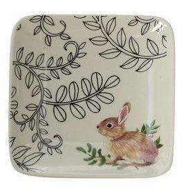 Bunny Small Stoneware Dish Thumbnail