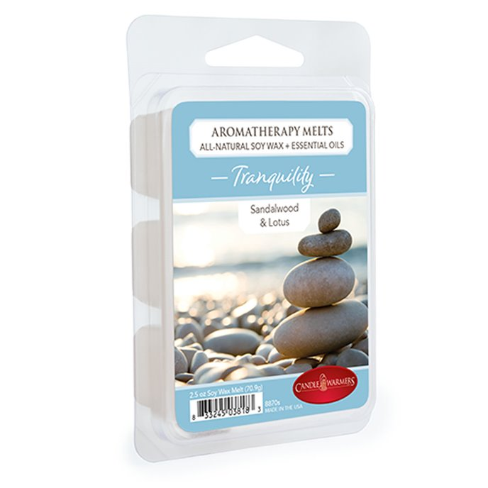 Tranquility Aromatherapy Wax Melts 2.5 oz by Candle Warmers Thumbnail
