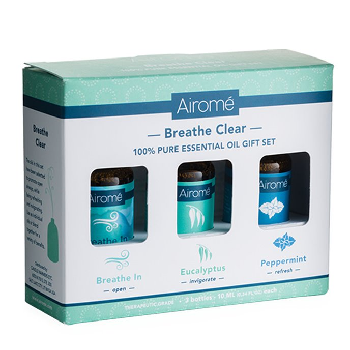 Airomé  Breathe Clear Essential Oil Set (3X 10ml) Thumbnail