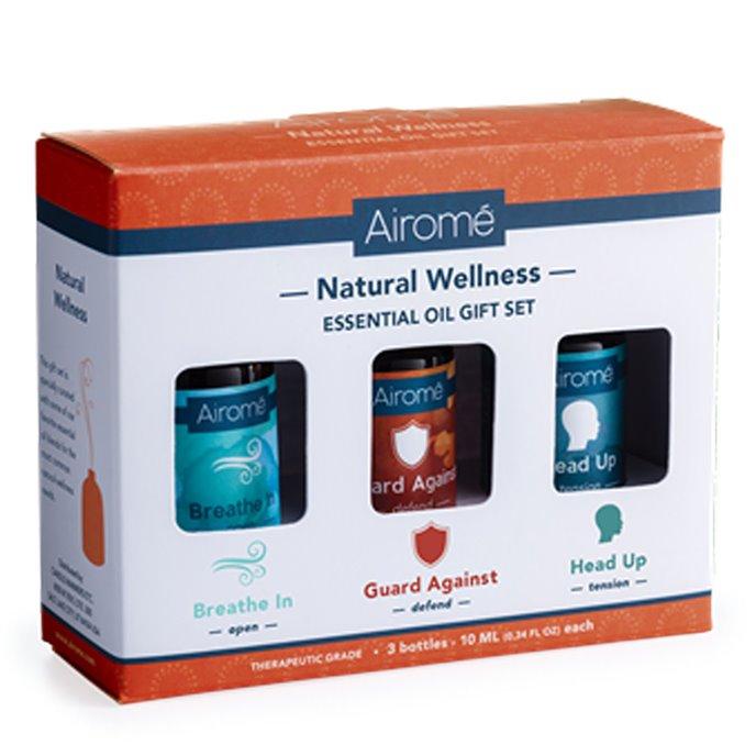 Airomé Natural Wellness Essential Oil Set (3X 10ml) 100% Pure Thumbnail