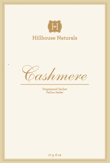 Cashmere Sachet .6 oz by Hillhouse Naturals Thumbnail