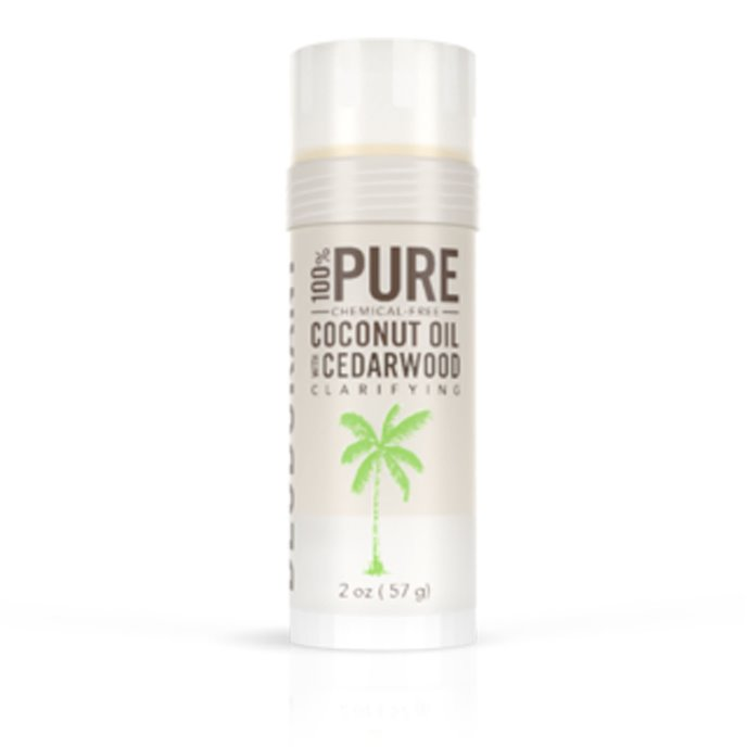 Skinny & Co. Natural Deodorant- Coconut Oil & Cedarwood (2 oz.) Thumbnail