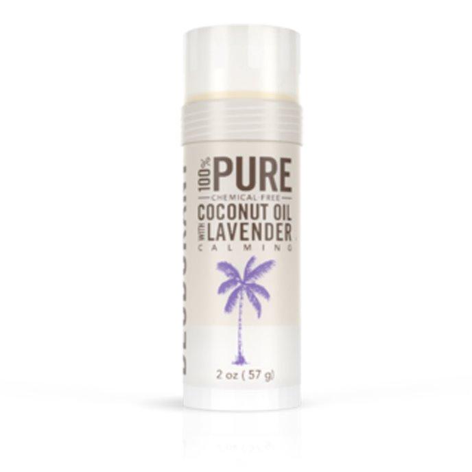 Skinny & Co. Natural Deodorant- Coconut Oil & Lavender (2 oz.) Thumbnail