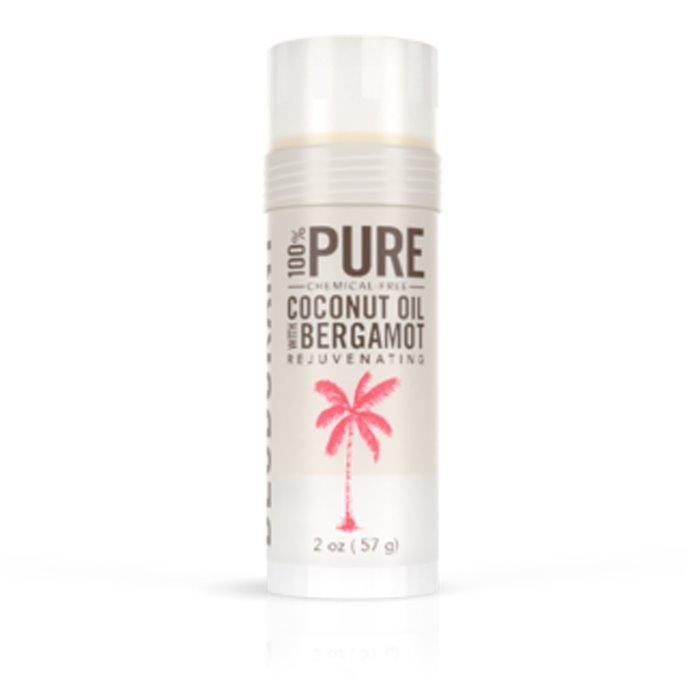 Skinny & Co. Natural Deodorant- Coconut Oil & Bergamot (2 oz.) Thumbnail
