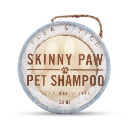 Skinny & Co. Skinny Paw Pet Shampoo- Flea & Tick (3.8 oz.) Thumbnail