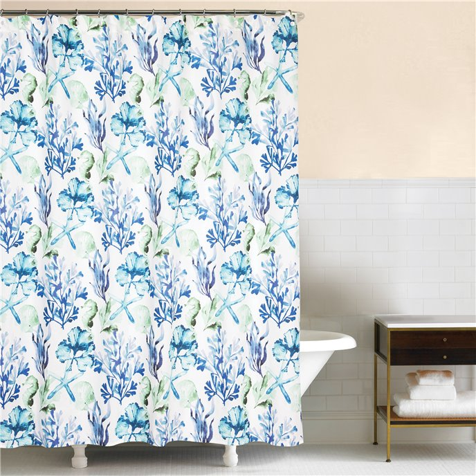 Bluewater Bay Shower Curtain Thumbnail