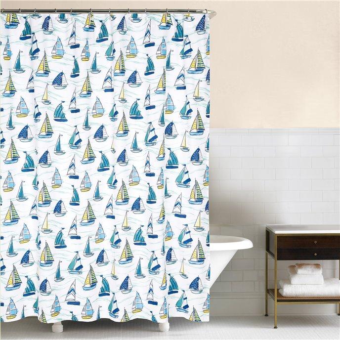 Dockside Shower Curtain Thumbnail