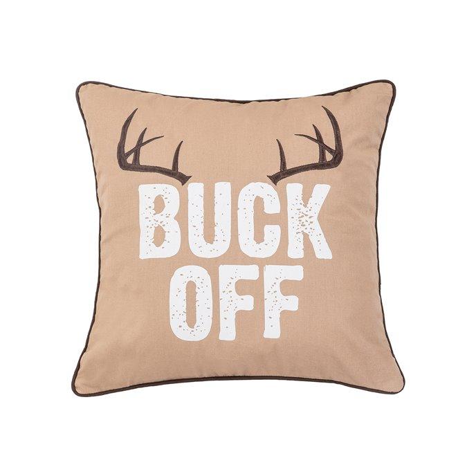 Buck Off Pillow Thumbnail