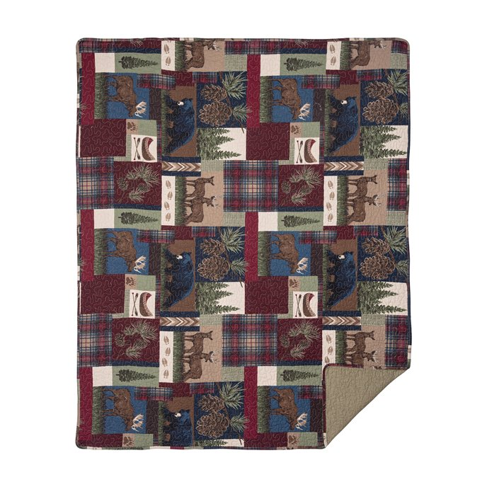 Rutherford Quilted Throw Thumbnail