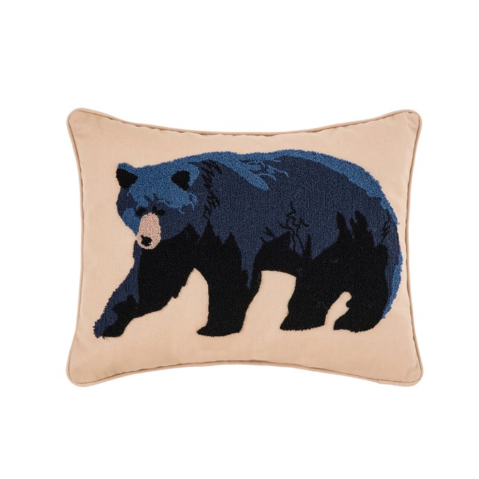 Black Bear Pillow Thumbnail