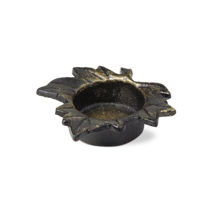 Bronzed Maple Leaf Tealight Holder Thumbnail