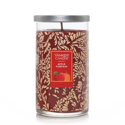 Yankee Candle Apple Pumpkin Medium Perfect Pillar Candle (Fall Jar) Thumbnail