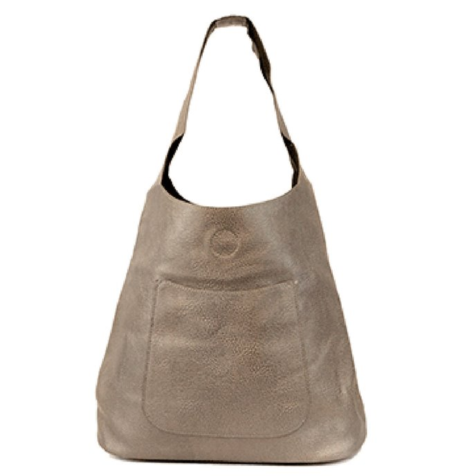Pewter Molly Slouchy Hobo Handbag Thumbnail