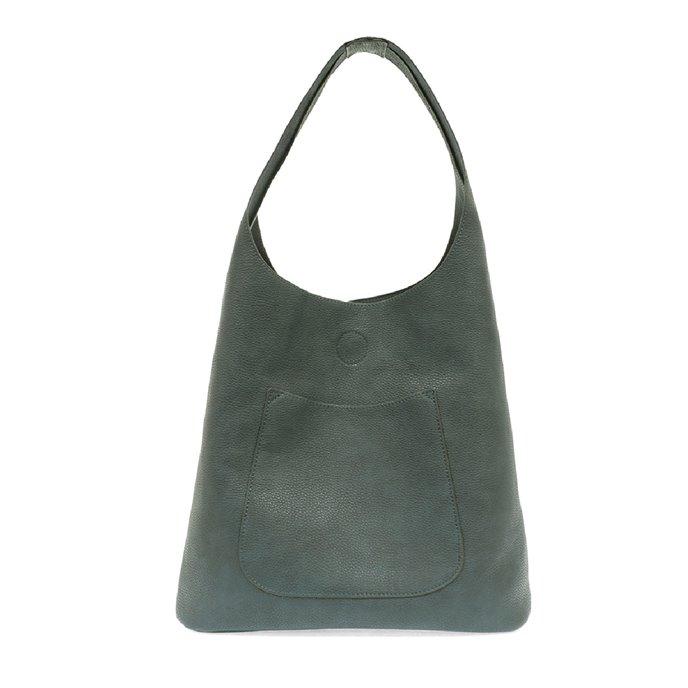 Dark Chambray Molly Slouchy Hobo Handbag Thumbnail