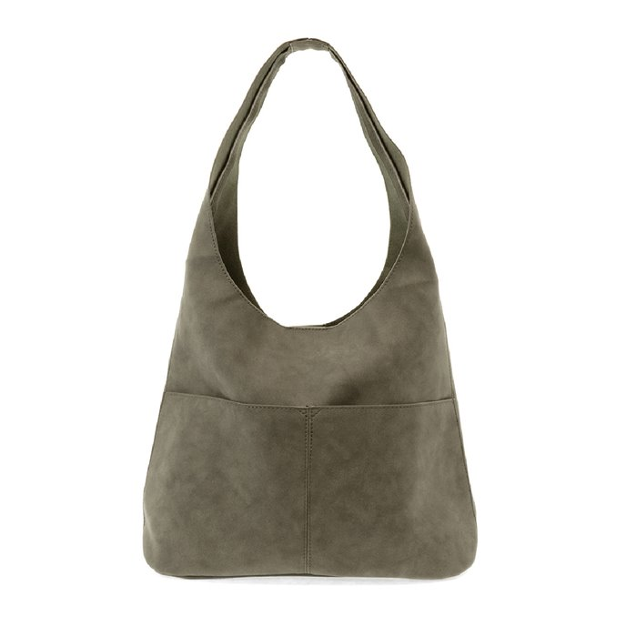 Sage Jenny Sueded Hobo Handbag Thumbnail