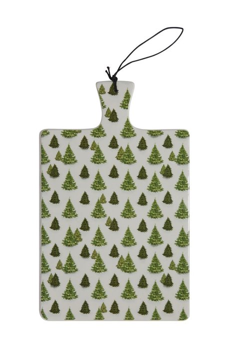 Evergreen Tree Ceramic Cutting Board Thumbnail