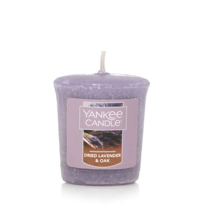 Yankee Candle Dried Lavender and Oak Sampler Votive Candle Thumbnail