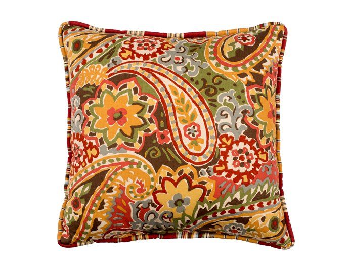 Breeze Tapestry Print Square Pillow Thumbnail