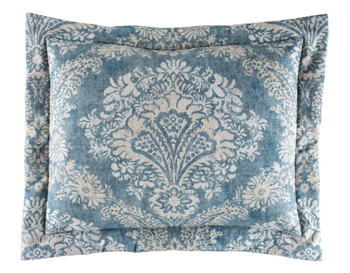 Alexandra Denim Standard Pillow Sham Thumbnail