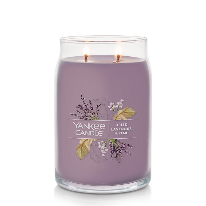 Yankee Candle Dried Lavender and Oak Large Jar Candle Thumbnail